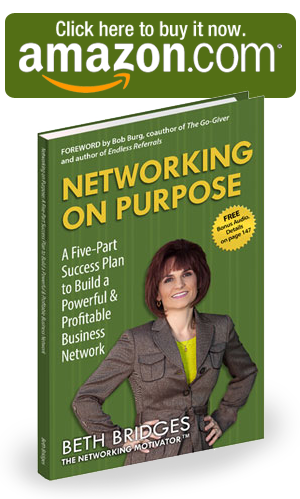 Networking On Purpose Book Cover: Click here to buy it now on Amazon.